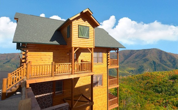 Cades Cove Castle 8 Bedrooms Cabin Hearthside At The