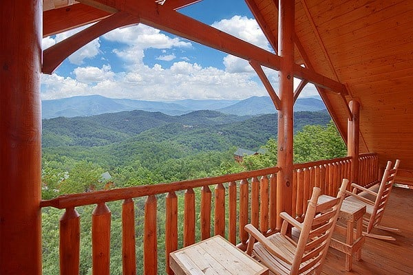 Smoky Mountain view from cabin