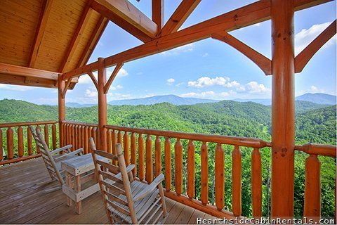 Smoky mountain high 3 bedrooms cabin hearthside at the for Cabin rentals near smoky mountains