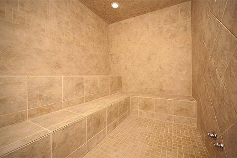 Steam Room at The Preserve