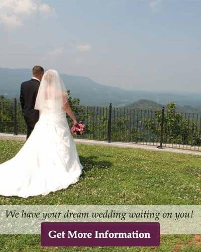 Dream wedding in the Smoky Mountains