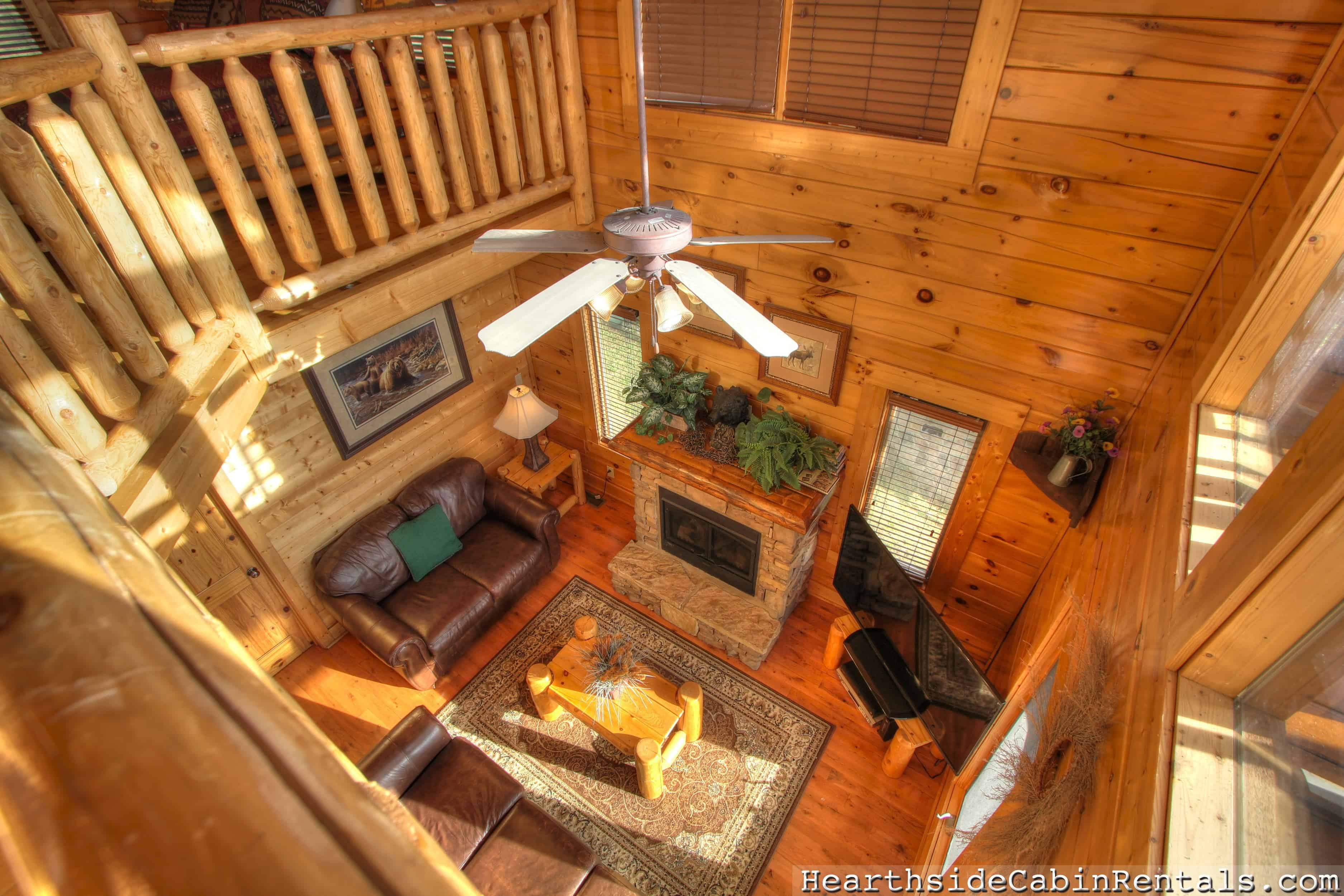 Find a Cabin Hearthside at the Preserve