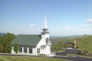 The Chapel at the Preserve in the Smoky Mountains.