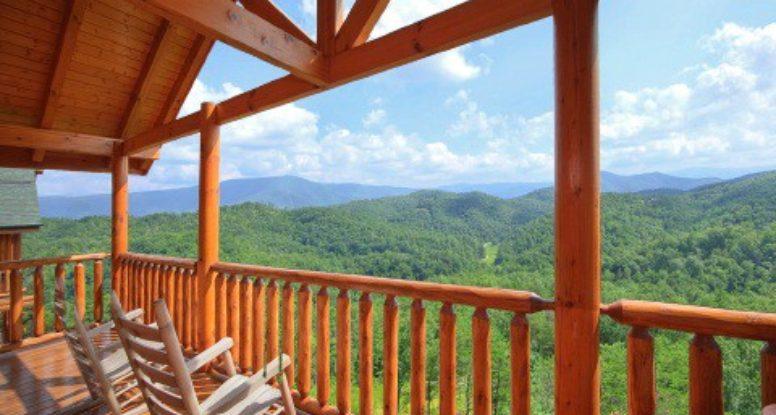 Heavenly view cabin in Wears Valley