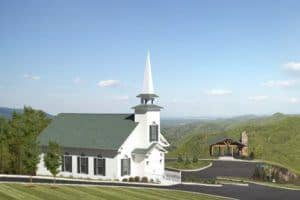 The Chapel at the Preserve in Wears Valley TN.