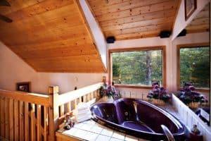 burnin love cabin