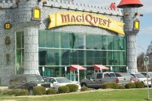 Exterior of MagiQuest in Pigeon Forge