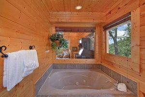 jacuzzi tub in time well wasted cabin
