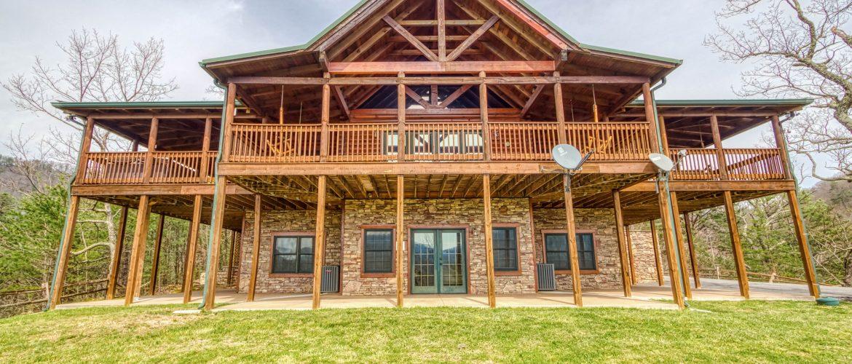modern wears valley cabin