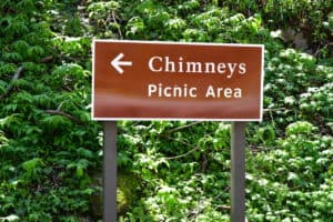 chimneys picnic area